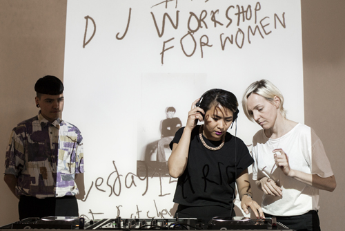 DJ Workshop for Women. Foto Marlise Steeman_500