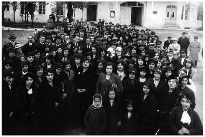 Women association of Iran, 1932. Photograph. IICHS Archive, Tehran
