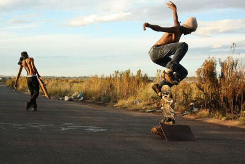 Akona Kenqu, From the series Kick Push (2010)