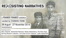 Re(as)sisting Narratives, design by Chimurenga