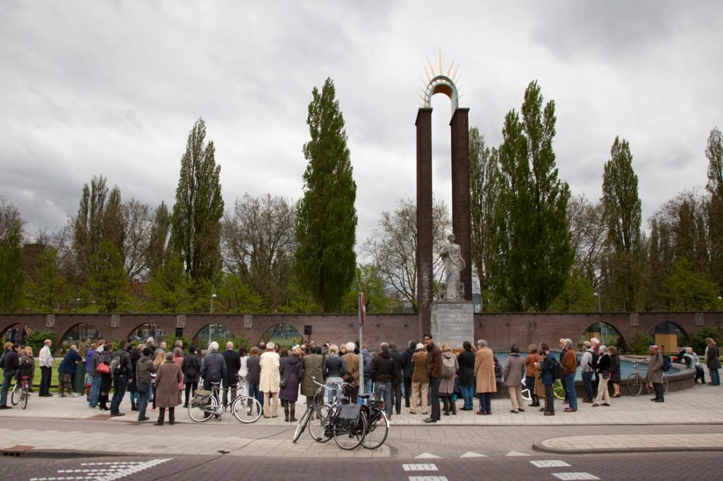 Framer Framed,  Hacking History, Van Heutsz Monument, Apollolaan Amsterdam