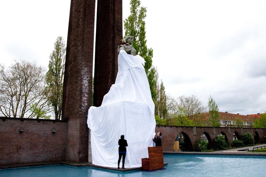 Iratxe Jaio en Klaas van Gorkum, Van Heutz, Monument Indie Nederland, Amsterdam