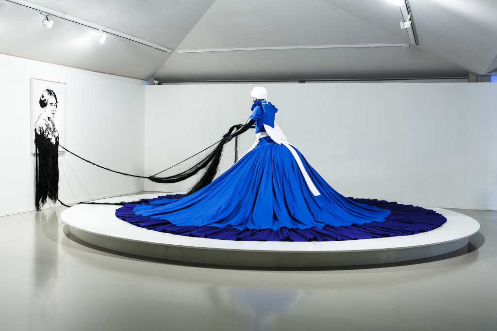 Eva Broekema - installation Mary Sibande, Conversations with Madam CJ Walker (2009)