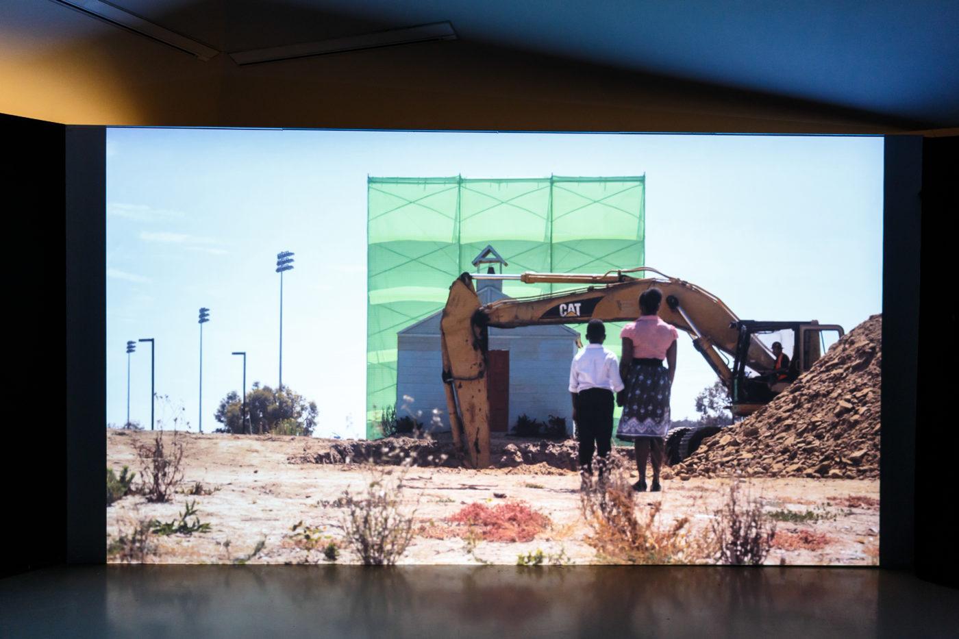 Cauleen Smith, Film still of Remote Viewing (2011)
