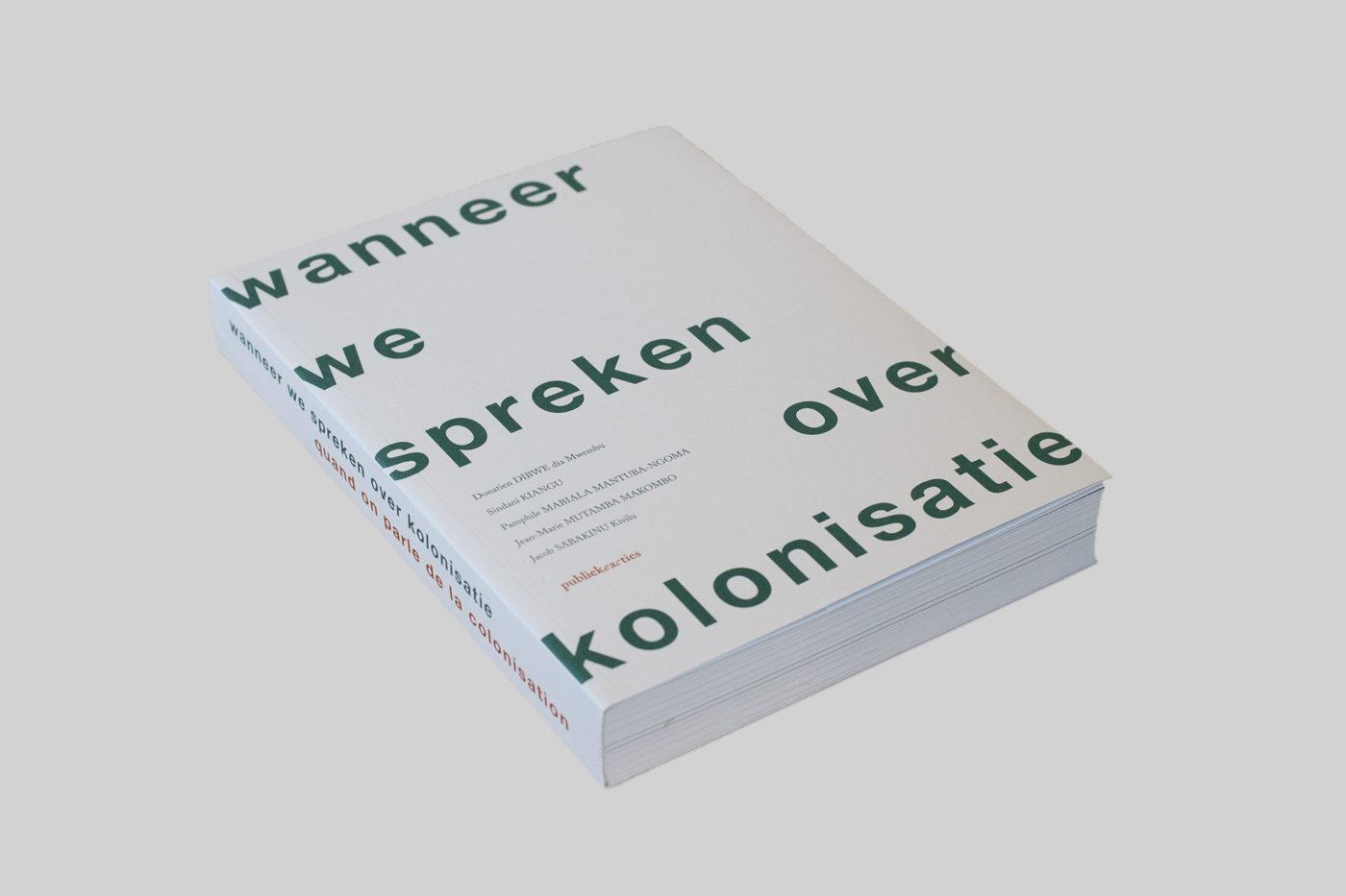 Wanneer we spreken over kolonisatie_book cover