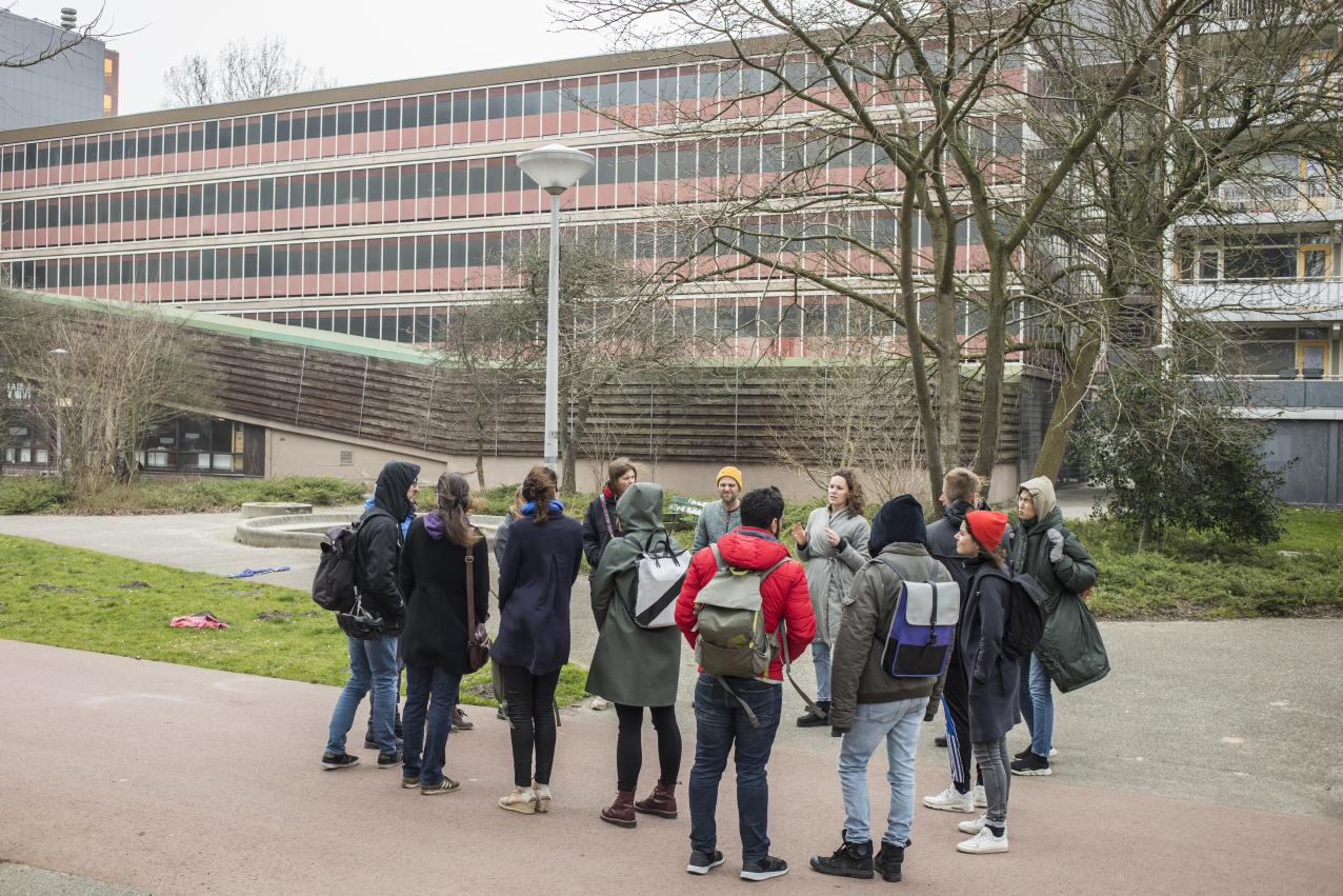 Tour in de Molenwijk