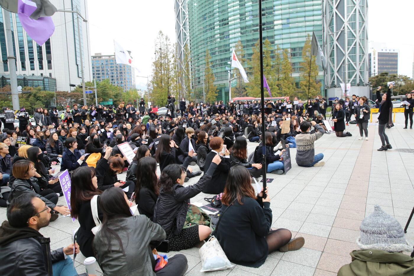 2016 Black Protest - Femidangdang 2