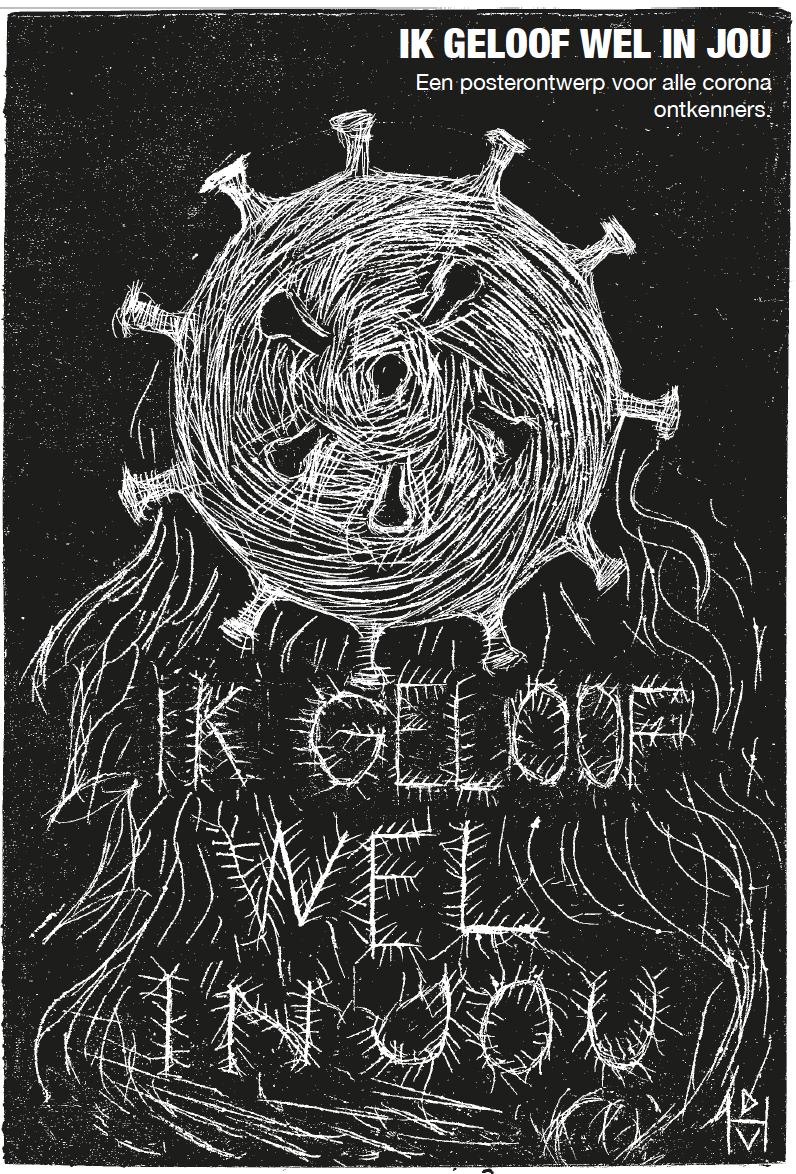 Poster ontwerp Domenique Himmelsbach de Vries