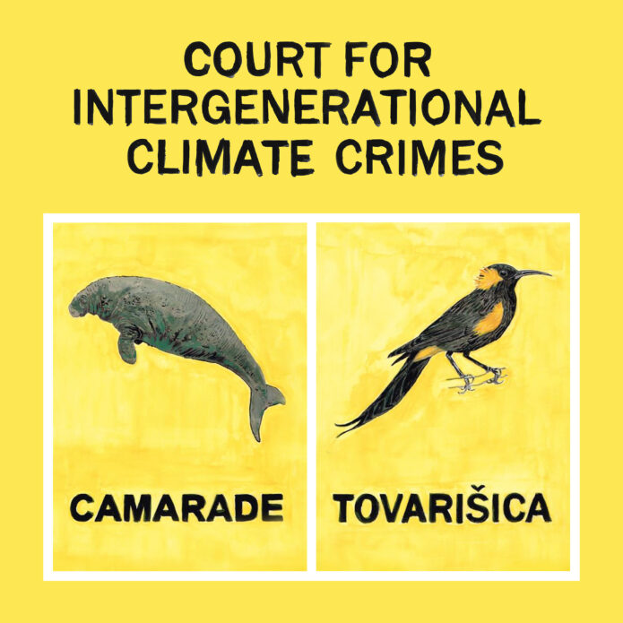 Court for Intergenerational Climate Crimes - Jonas Staal