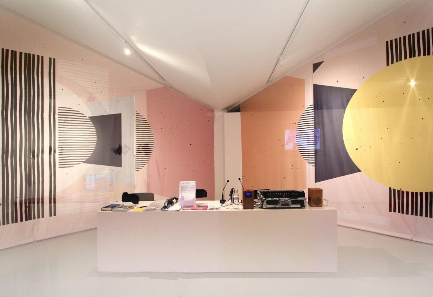 Afaina de Jong, exhibition design